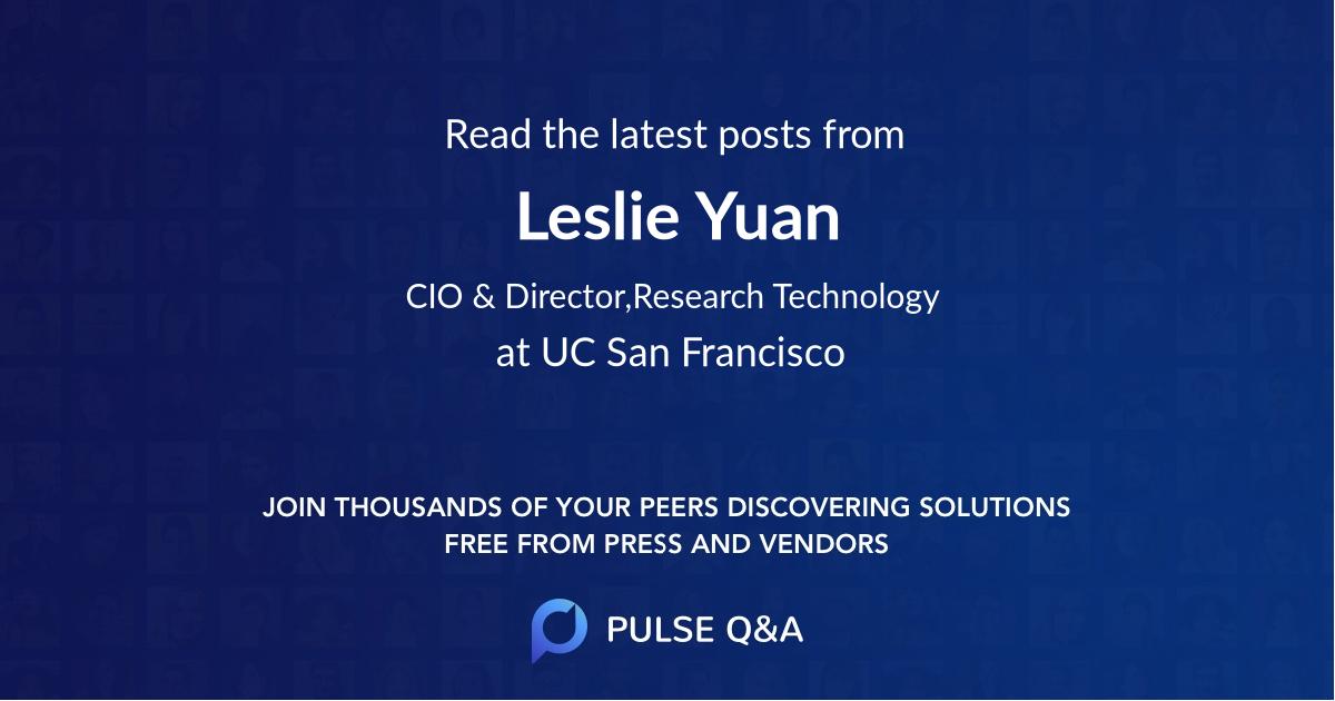 Leslie Yuan