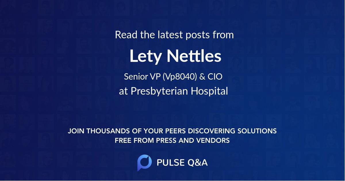 Lety Nettles