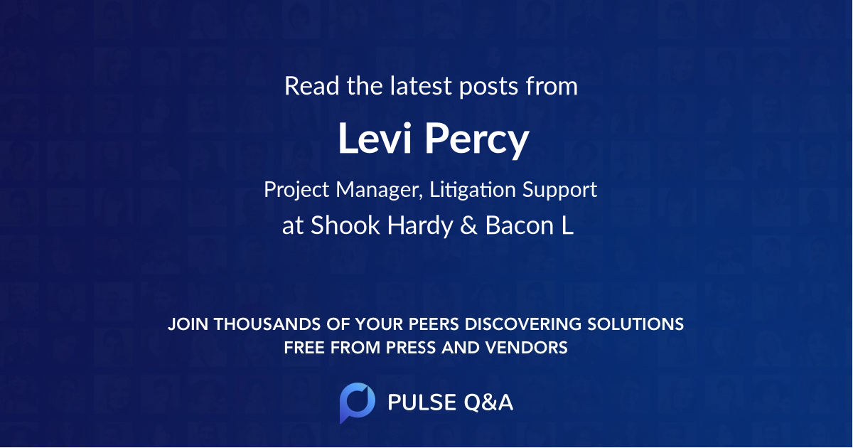 Levi Percy