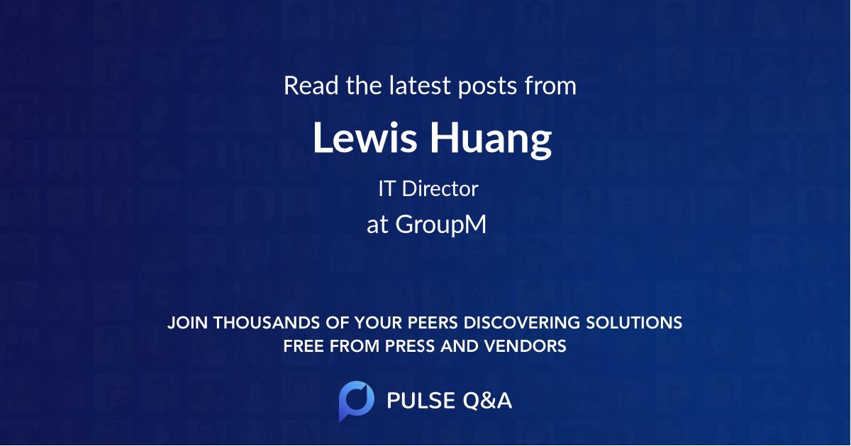 Lewis Huang
