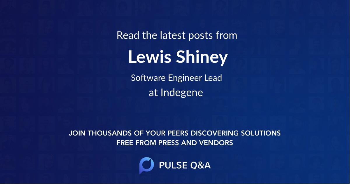 Lewis Shiney