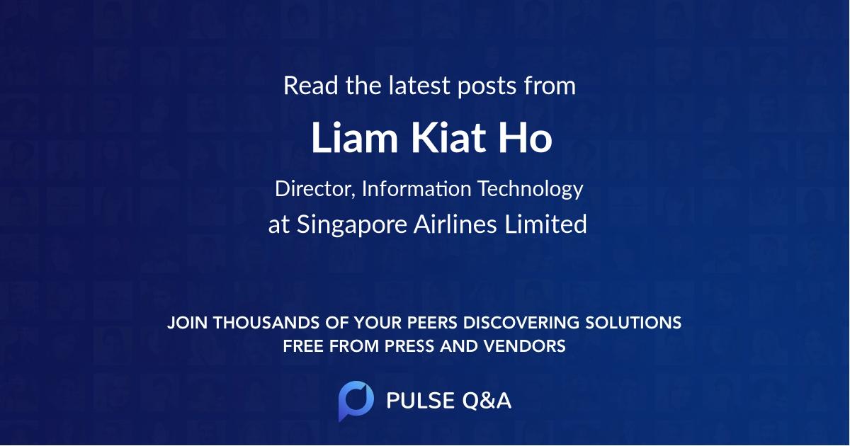 Liam Kiat Ho