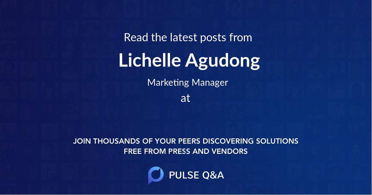Lichelle Agudong