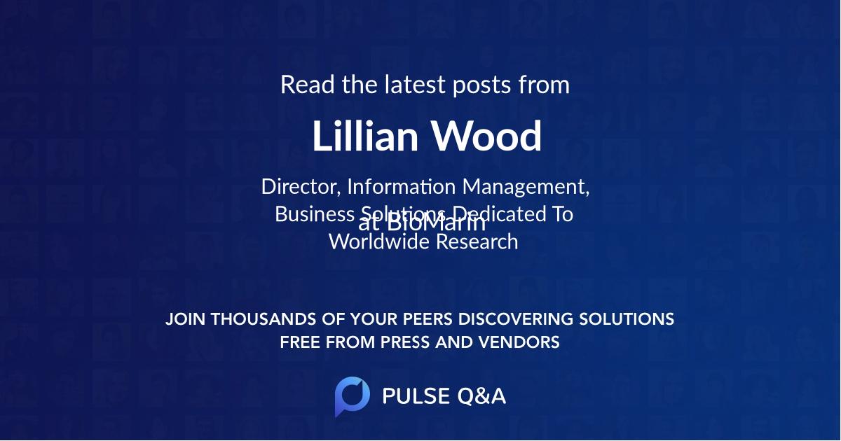 Lillian Wood