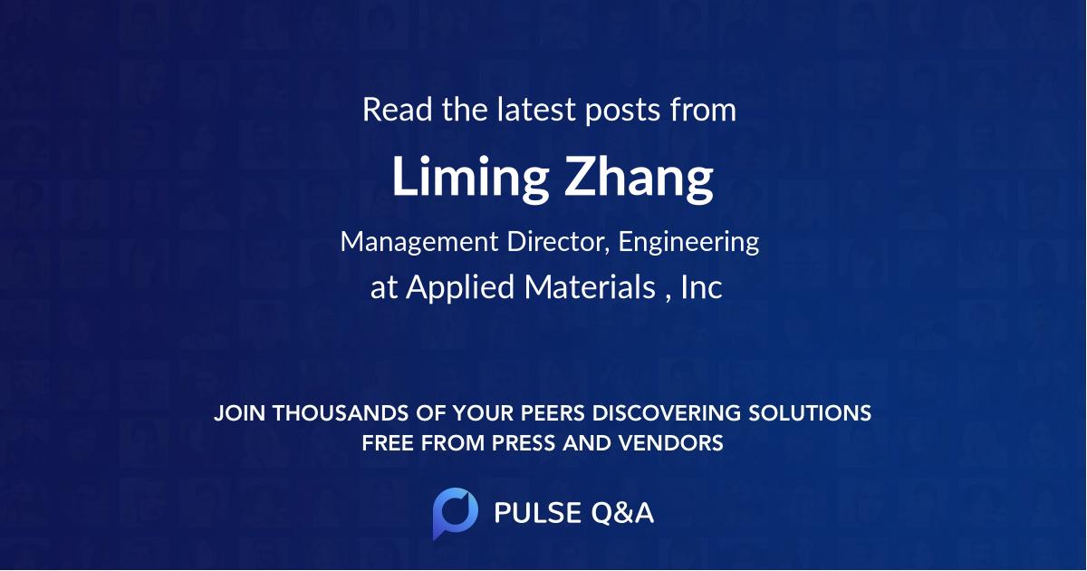 Liming Zhang