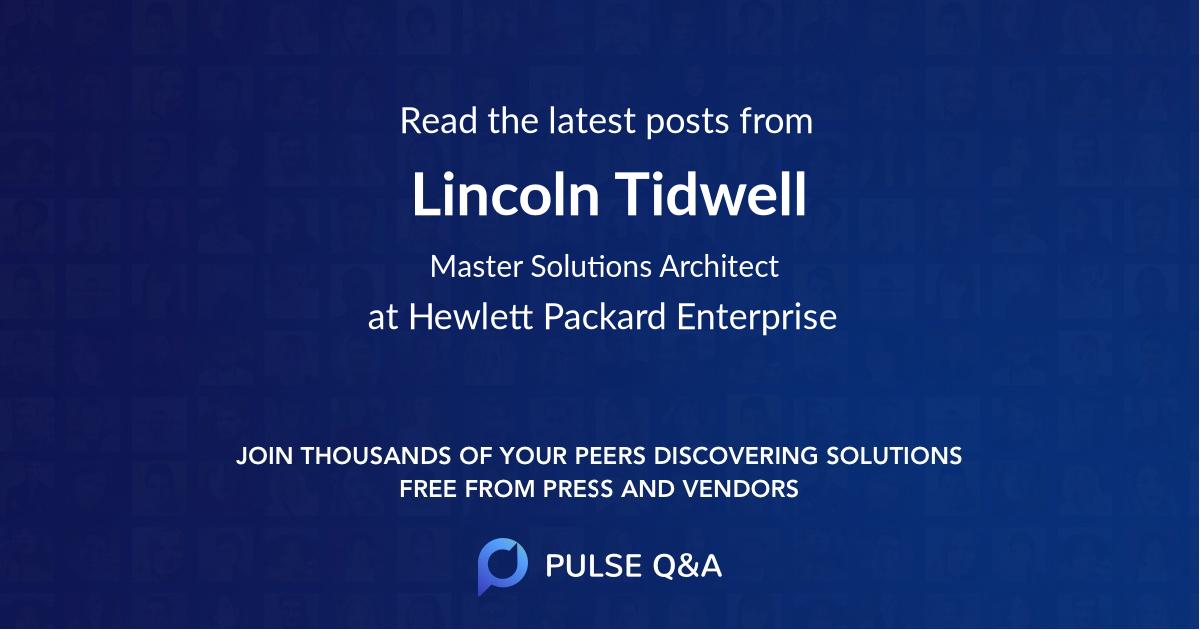Lincoln Tidwell