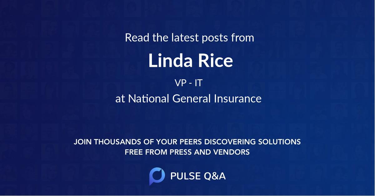 Linda Rice