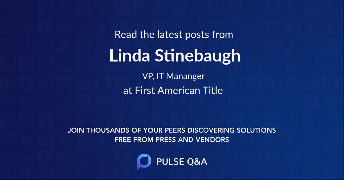Linda Stinebaugh