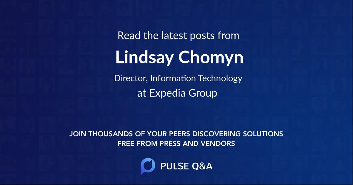 Lindsay Chomyn