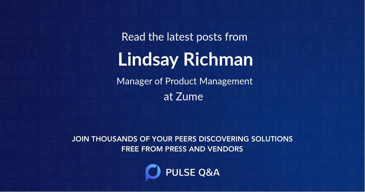 Lindsay Richman