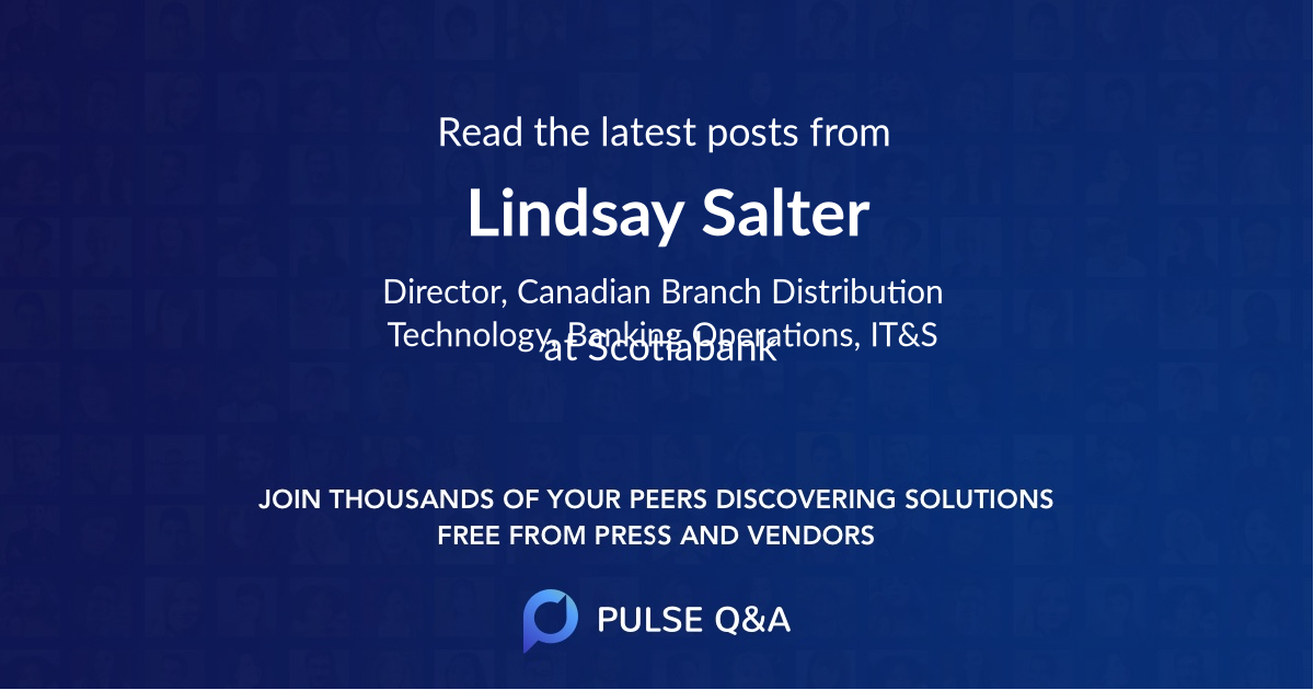 Lindsay Salter