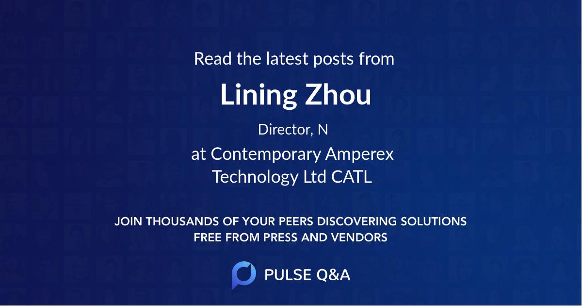 Lining Zhou