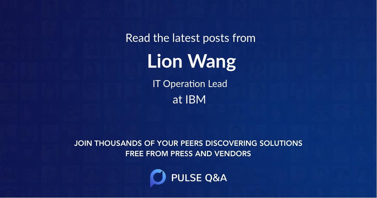 Lion Wang