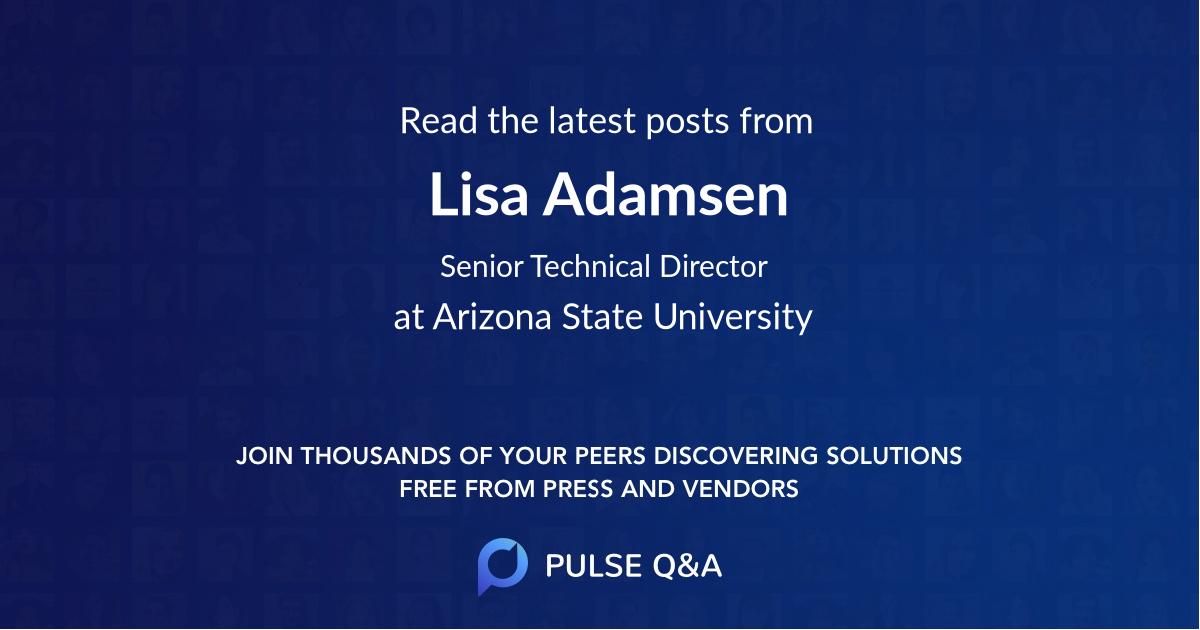 Lisa Adamsen