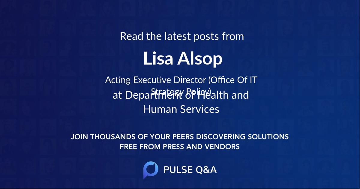 Lisa Alsop