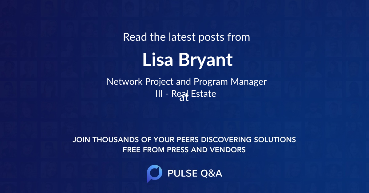 Lisa Bryant