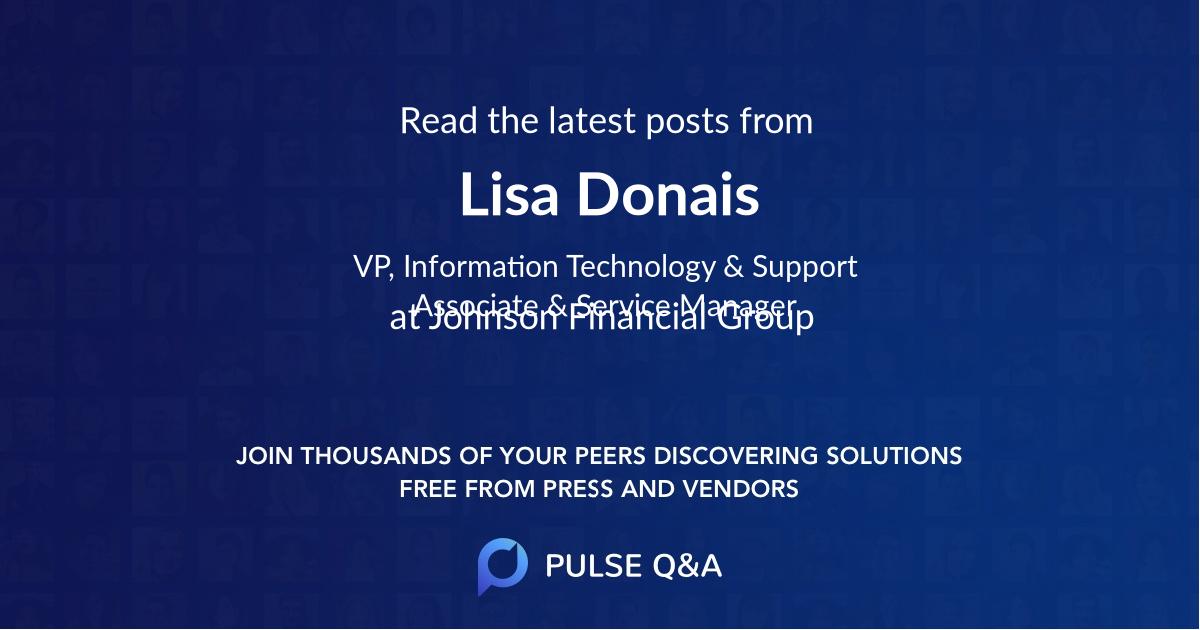 Lisa Donais
