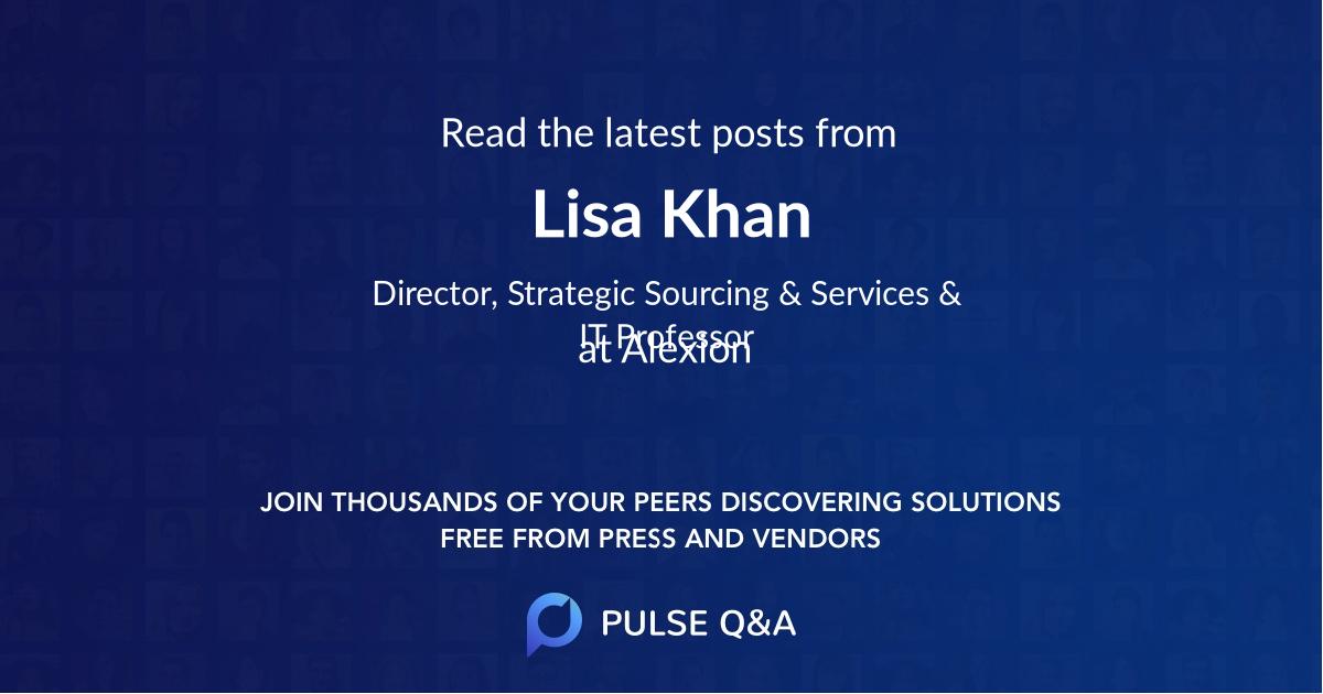 Lisa Khan