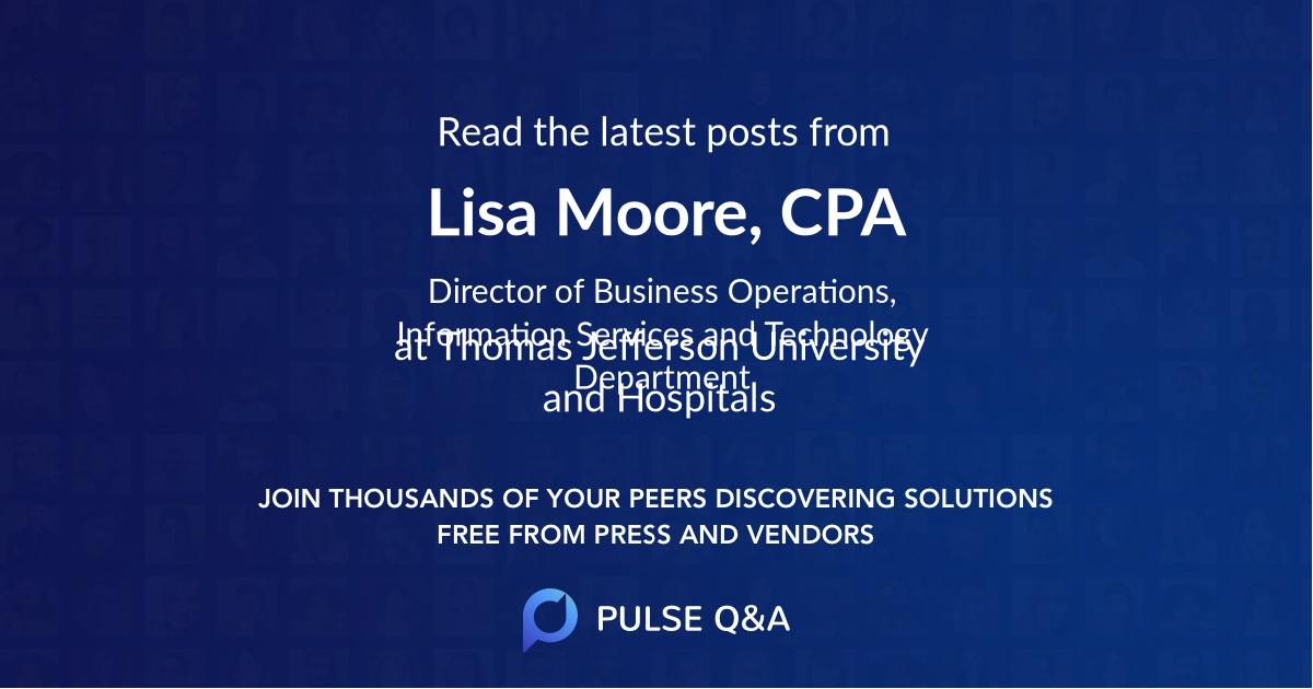 Lisa Moore, CPA