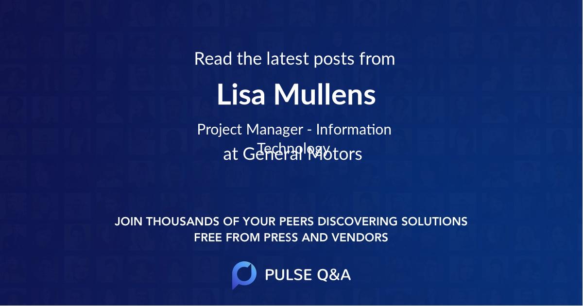 Lisa Mullens