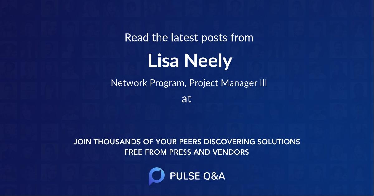 Lisa Neely
