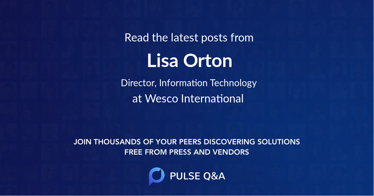 Lisa Orton