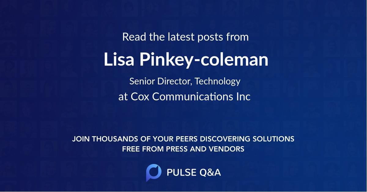 Lisa Pinkey-coleman