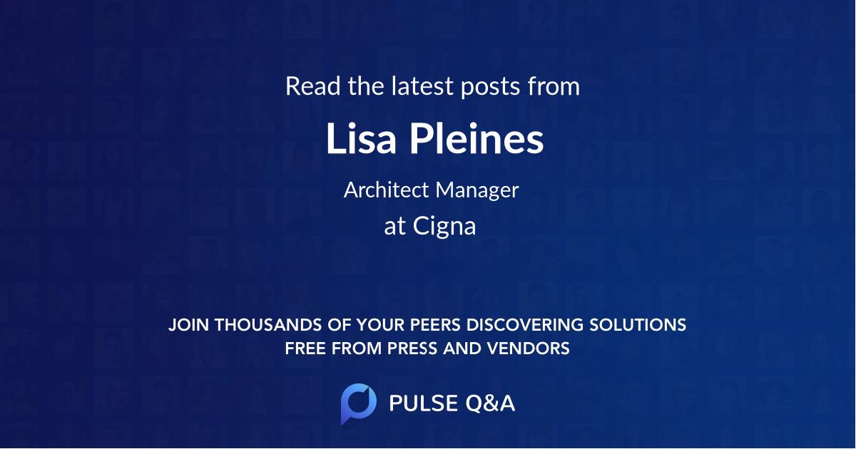 Lisa Pleines