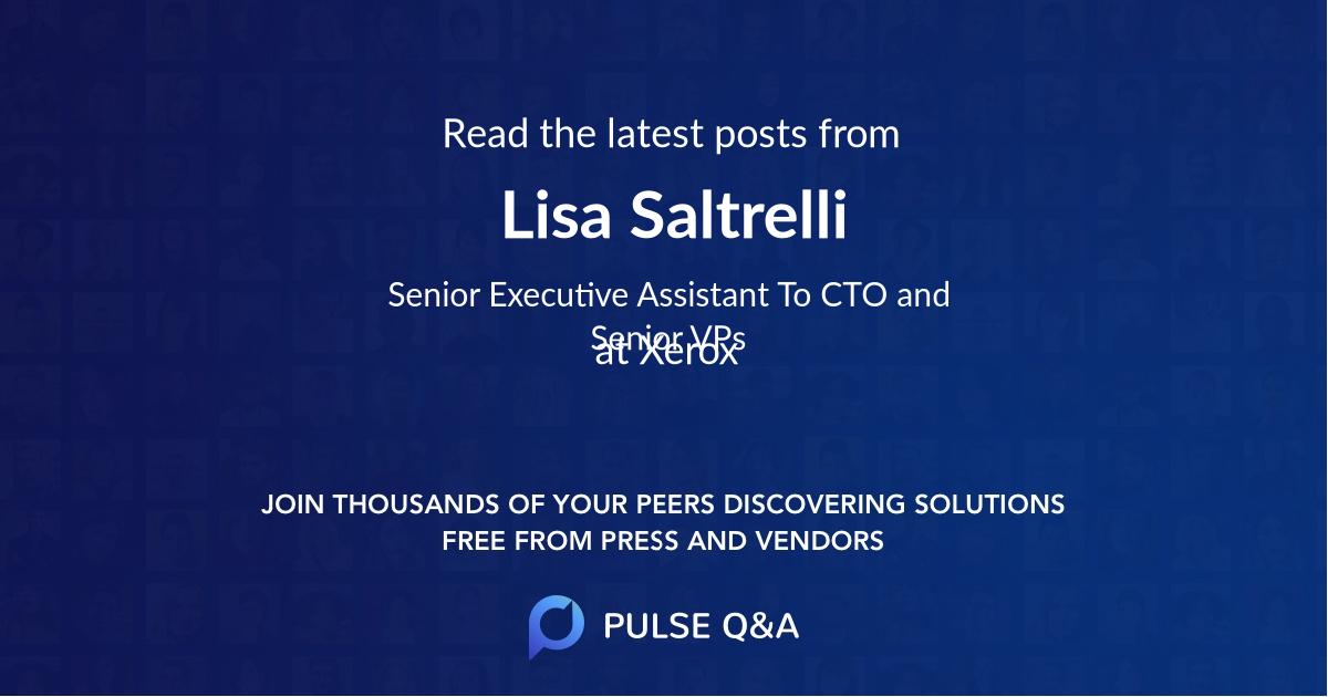 Lisa Saltrelli
