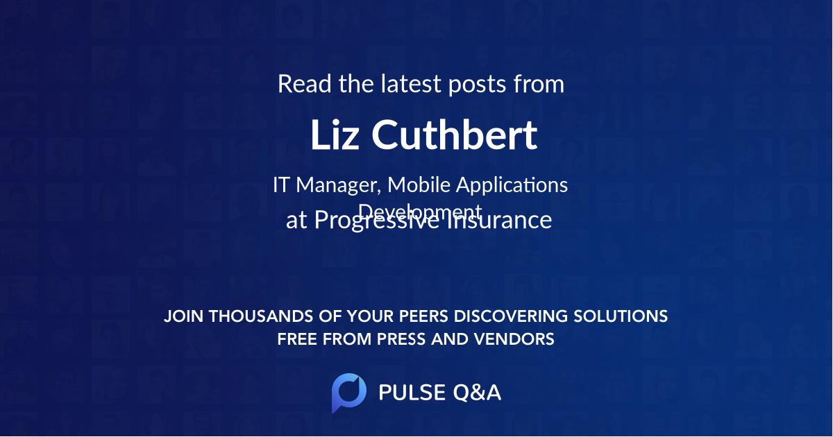 Liz Cuthbert