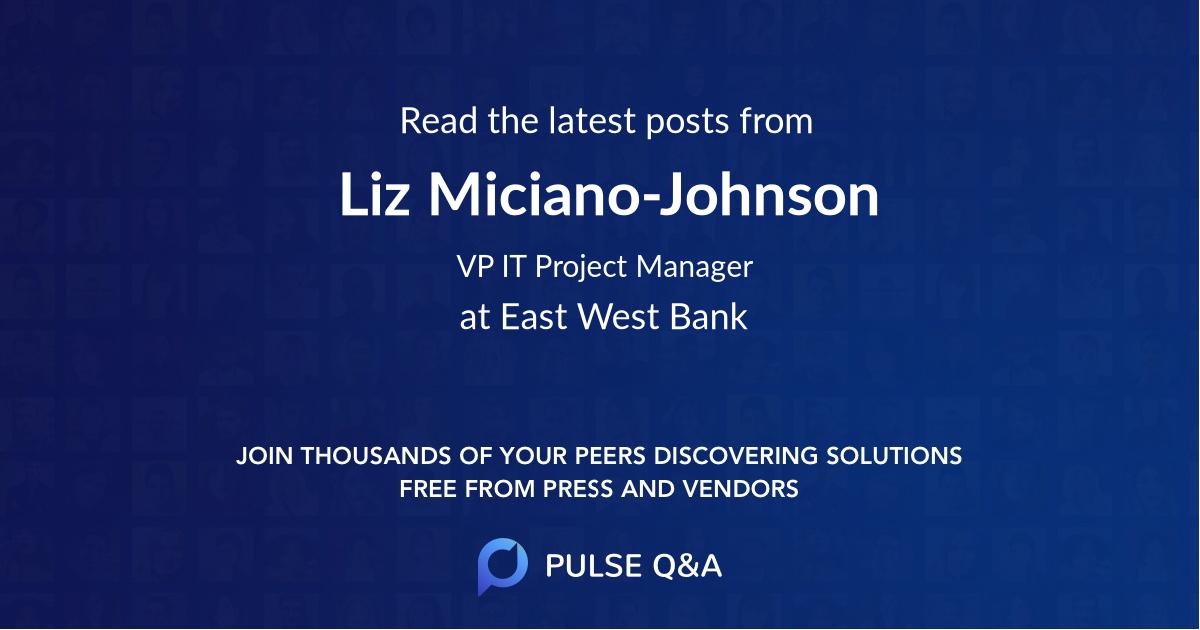 Liz Miciano-Johnson