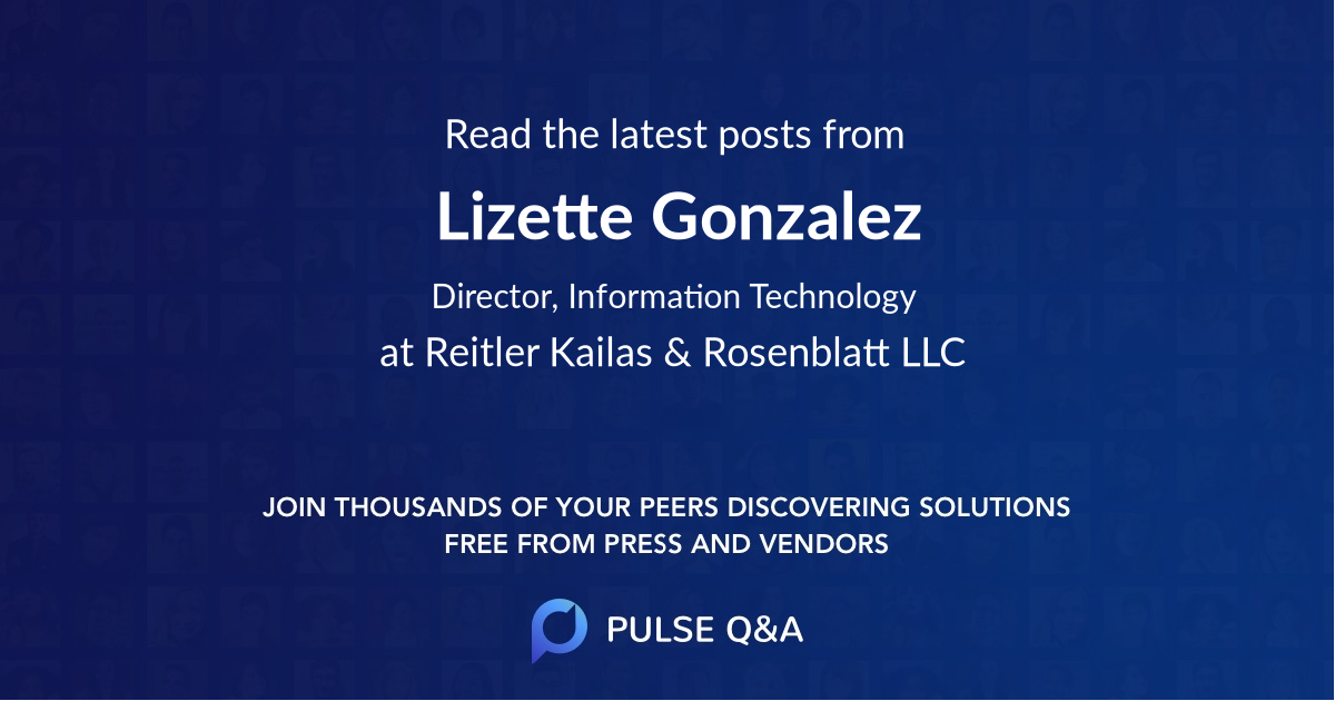 Lizette Gonzalez