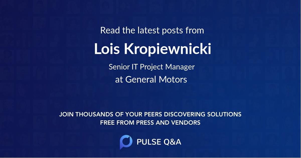 Lois Kropiewnicki