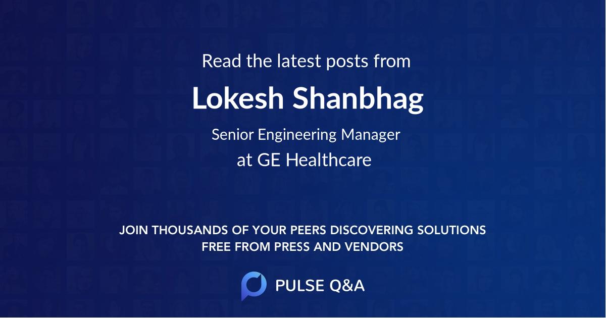 Lokesh Shanbhag