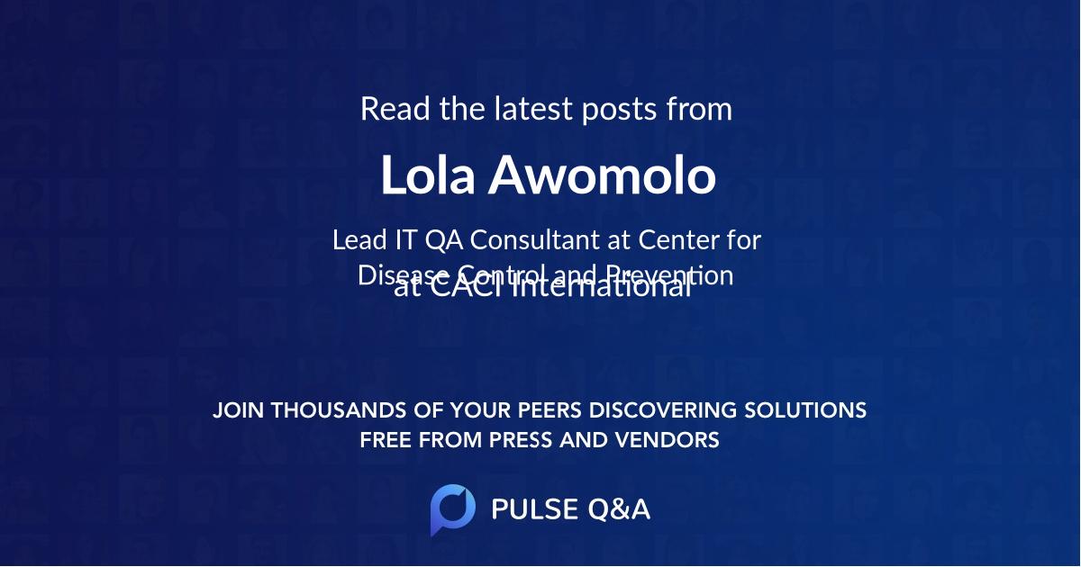 Lola Awomolo