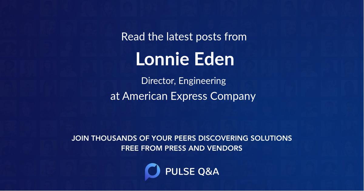 Lonnie Eden