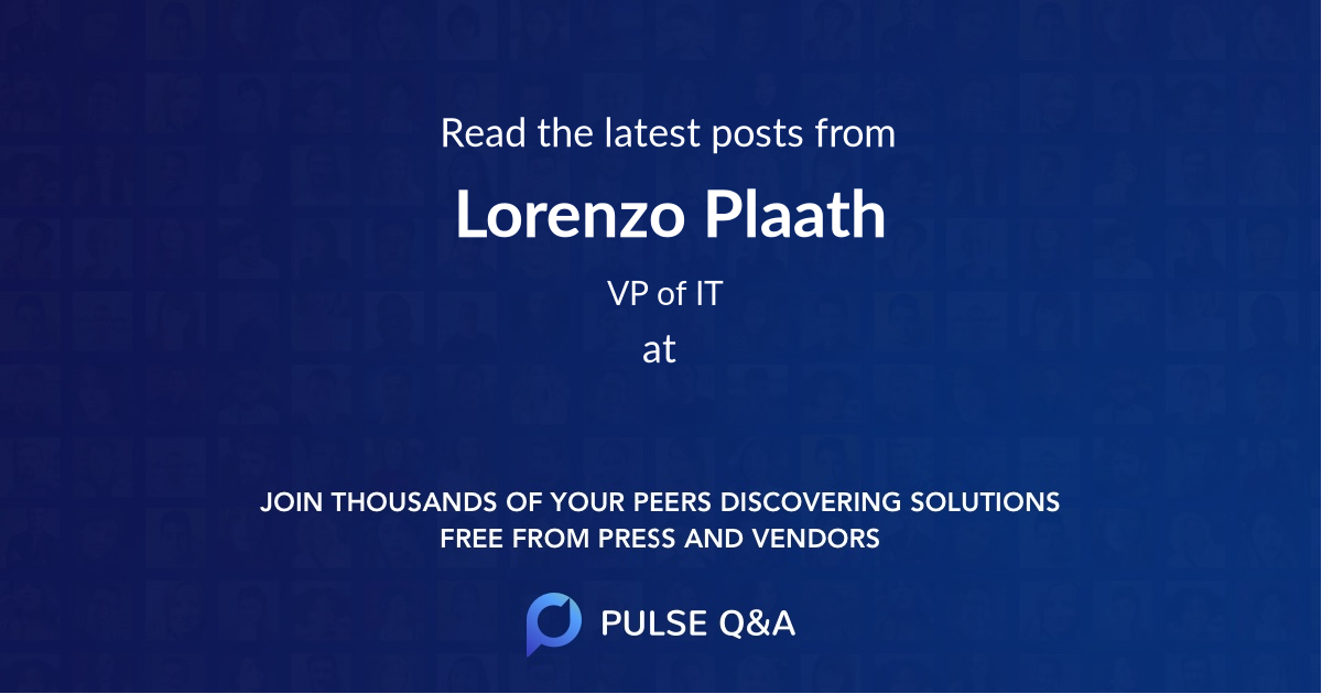 Lorenzo Plaath