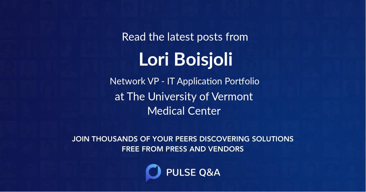Lori Boisjoli