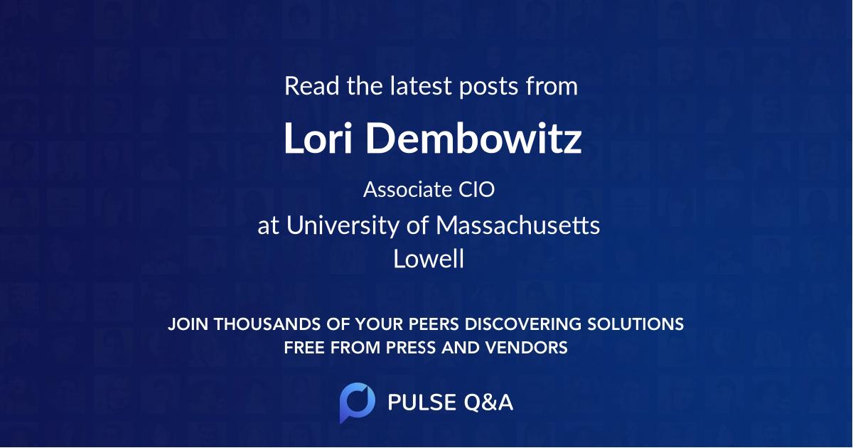 Lori Dembowitz