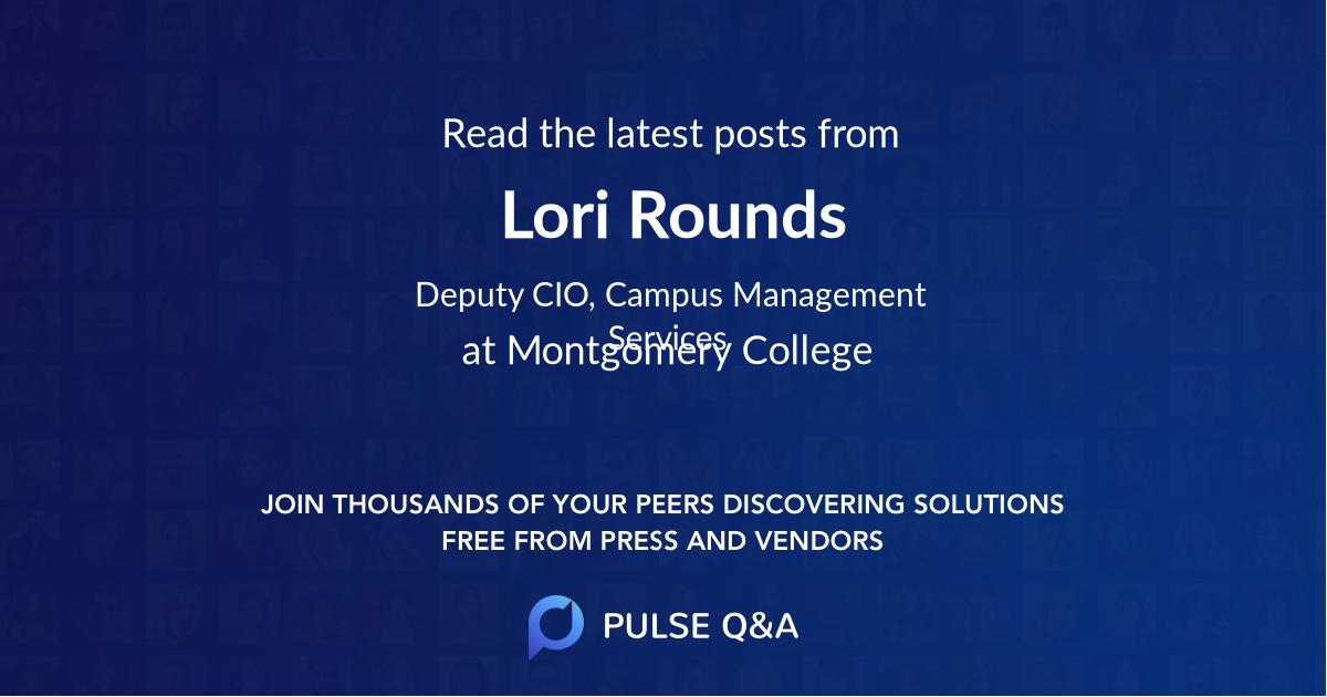 Lori Rounds