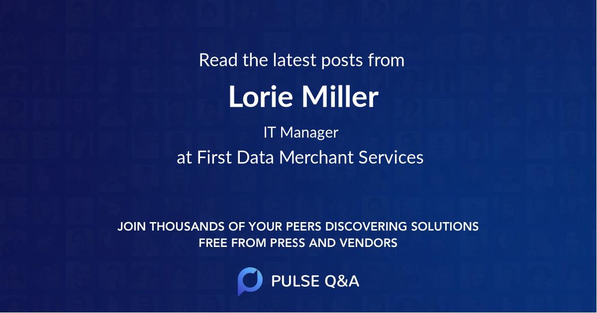 Lorie Miller