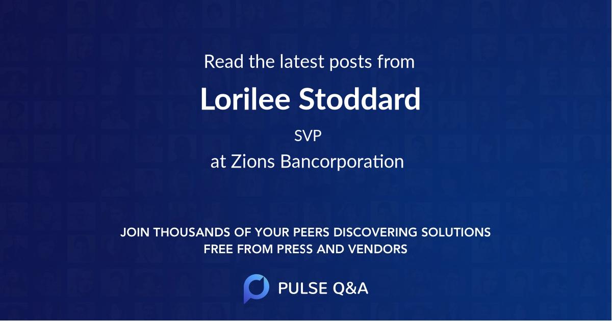 Lorilee Stoddard
