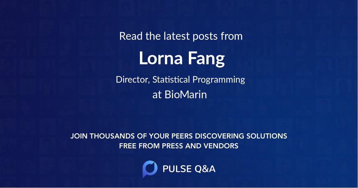 Lorna Fang