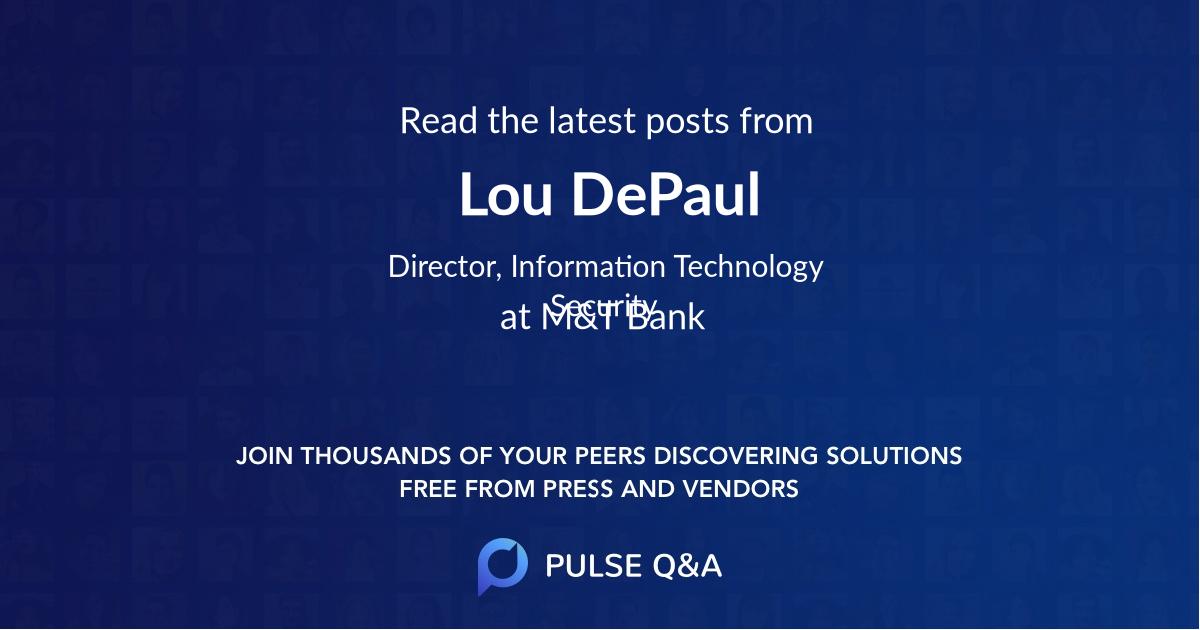Lou DePaul