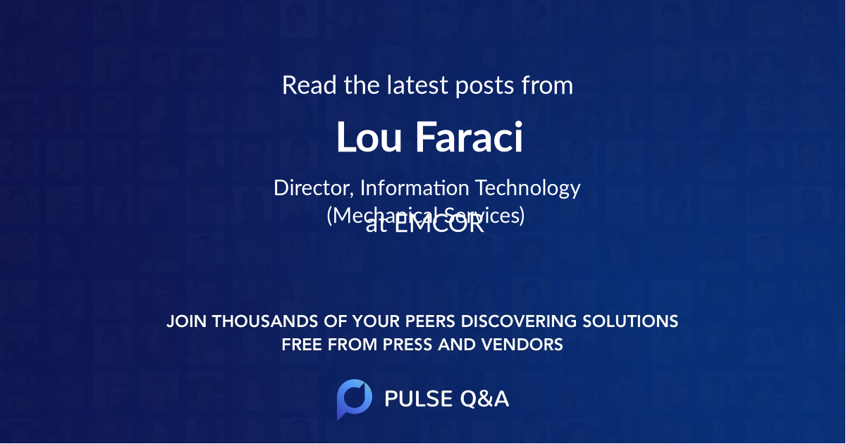 Lou Faraci