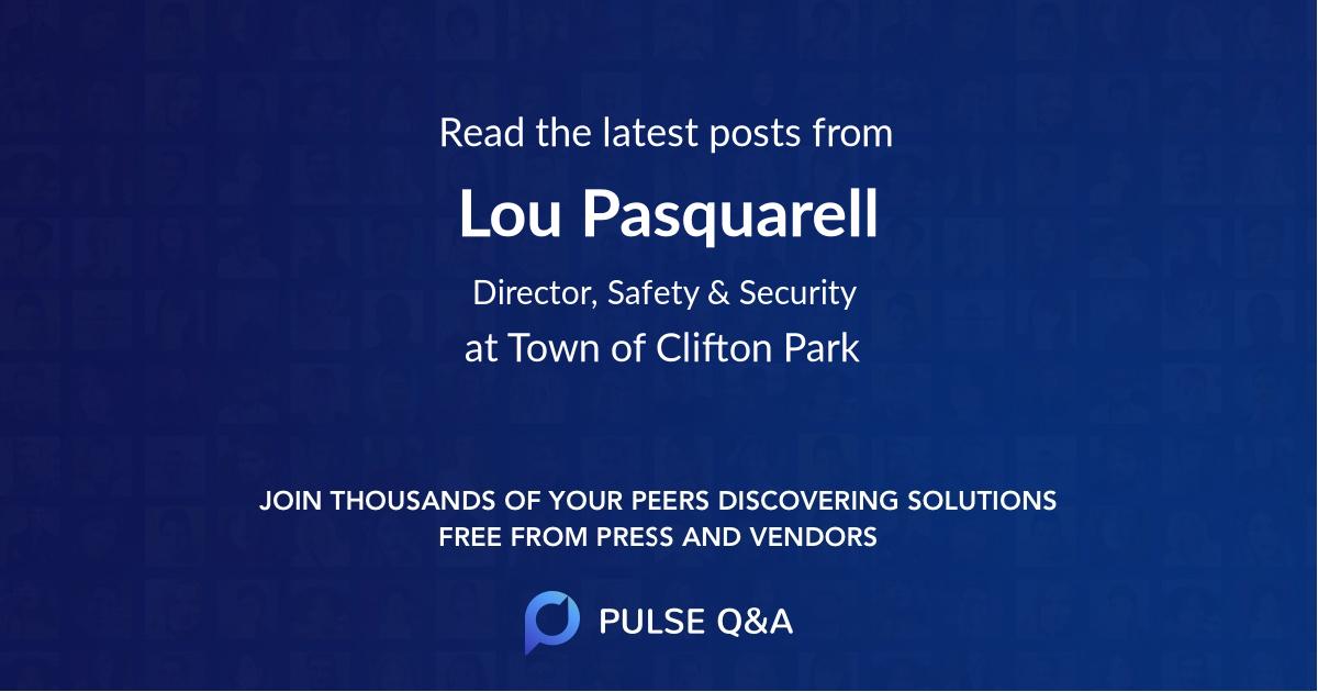 Lou Pasquarell