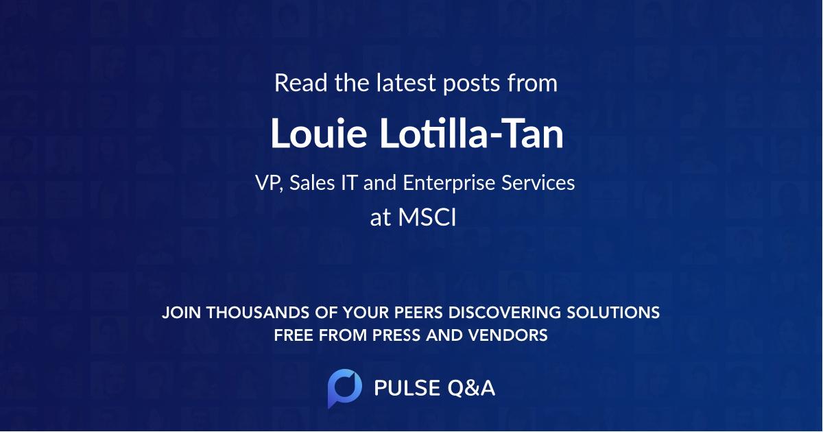 Louie Lotilla-Tan