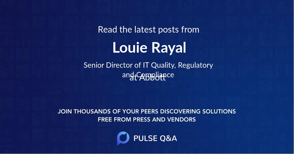 Louie Rayal