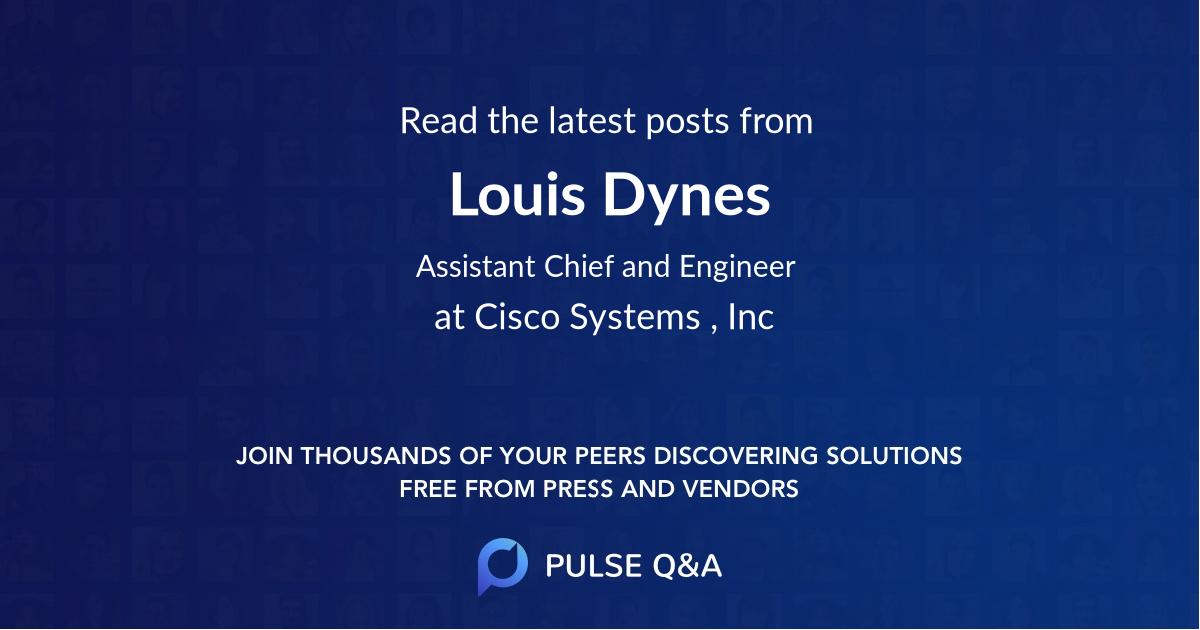 Louis Dynes