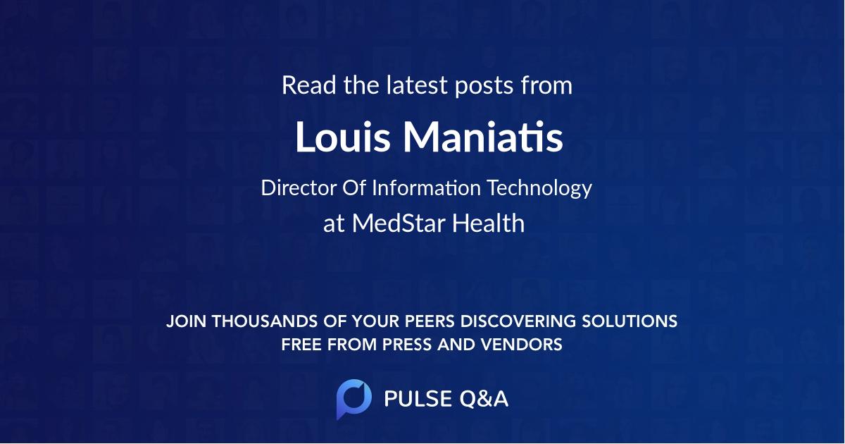 Louis Maniatis